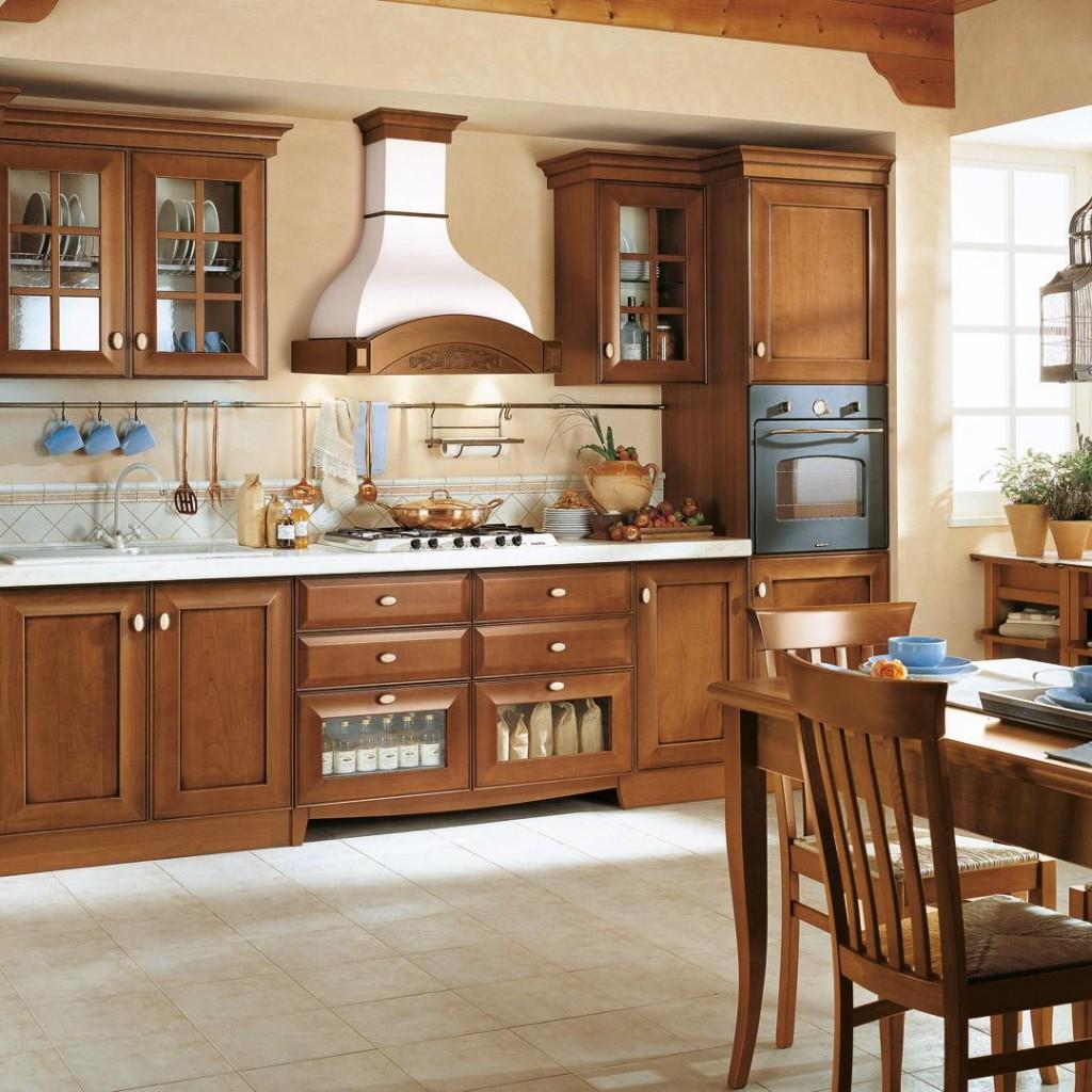 mobili biagi cucine lube mod velia ciliegio lariano